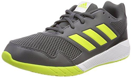 adidas Unisex-Kinder Altarun Gymnastikschuhe, Mehrfarbig (Grey Five F17/semi Solar Yellow/core Black), 38 2/3 EU