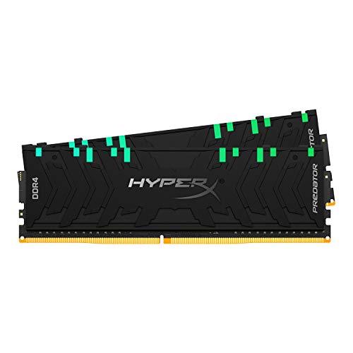 Oferta de HyperX Predator HX429C15PB3AK2/16 Memoria 2933MHz DDR4 CL15 DIMM XMP 16GB Kit (2x8GB) RGB
