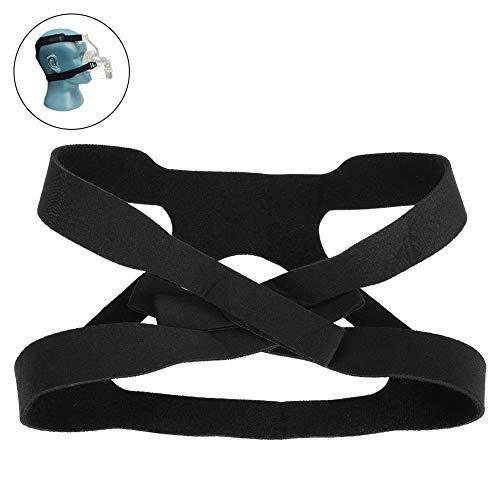 La correa universal del arnés reemplaza a la máscara completa ultraligera de confort para la máquina de respiración de piezas de repuesto,la banda para la cabeza se adapta a Respironics Resmed Resmart