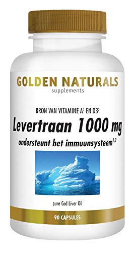 Golden Naturals Levertraan (90 softgel capsules)