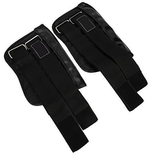 Asixxsix Pesas de entrenamiento para legging, 2 piezas de 1 a 6 kg de peso ajustable para tobillo y muñeca, para ejercicios en casa