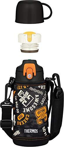 サーモス 水筒 真空断熱2ウェイボトル 0.6L/0.63L ブラックオレンジ FJJ-600WF BKOR