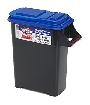 Buddeez 07501B Kingsford Charcoal and Pellet Dispenser 12lb bags Black