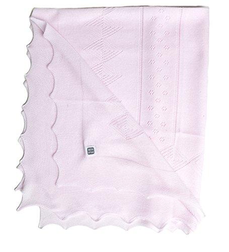Minutus Toquilla Rouse, 100% Dralón (lana bebé), 90 Cm, color Rosa
