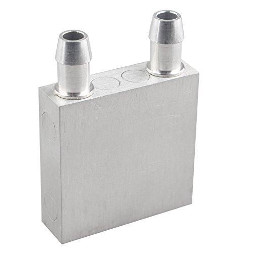 HALJIA Dissipatore di calore raffreddato ad acqua radiatore 40 * 40 * 12 mm aluminum Water piatto modulo di raffreddamento a liquido per CPU semiconductor