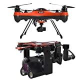 SwellPRO SplashDrone 3+ Waterproof Base Platform - with PL4 Waterproof Payload Release with HD Night Camera with 1 Axis Gimbal