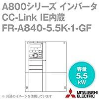 三菱電機(MITSUBISHI) FR-A840-5.5K-1-GF CC-Link IE内蔵インバータ 三相400V (容量:5.5kW) (FMタイプ) NN