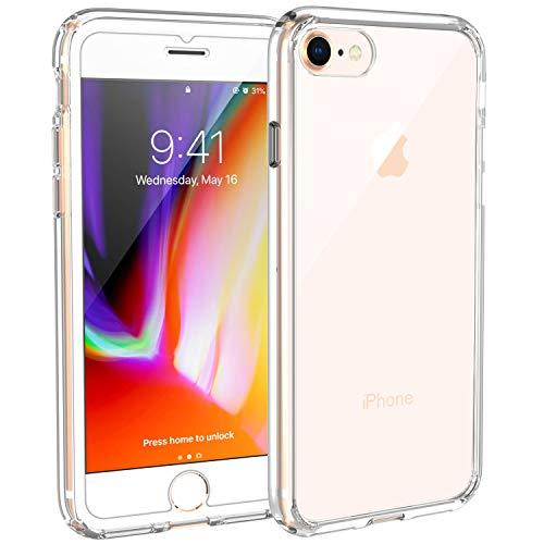 Syncwire Coque iPhone 8/7 Transparente - Housse de Protection en Silicone Rigide Anti Choc avec Technologie de Coussins d'air tuis iPhone 8 / iPhone 7 Coque UltraRock Sries - Transparent