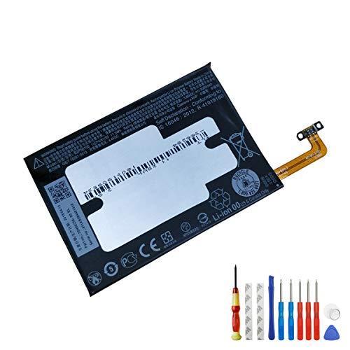 Neuer Ersatzakku B2PS6100 Kompatibel mit HTC One M10 HTC 10 Lifestyle 3000MAH 3.85V 35H00256-00