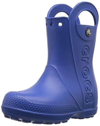 Crocs - Enfants Unisexe poignée It Rain Boot Chaussures Enfants, 29-30, Sea Blue