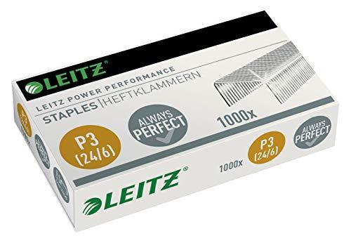 Leitz 55700000 Heftklammer (24/6 mm) verzinkt (15000er Pack)