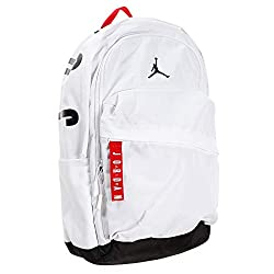 in budget affordable Nike Jordan Air Patrol Backpack (One Size, White)