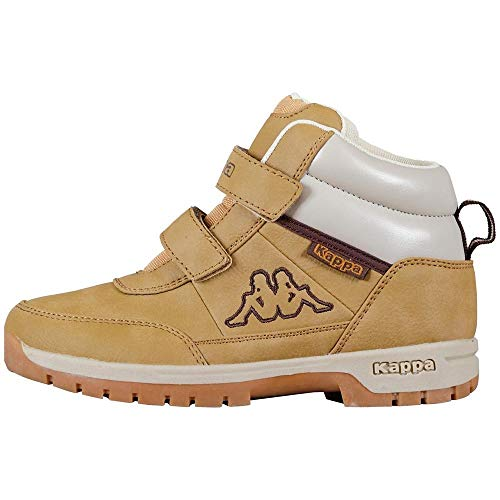 Kappa BRIGHT Unisex-Kinder Hohe Sneakers, Beige (Beige 4141), 25 EU