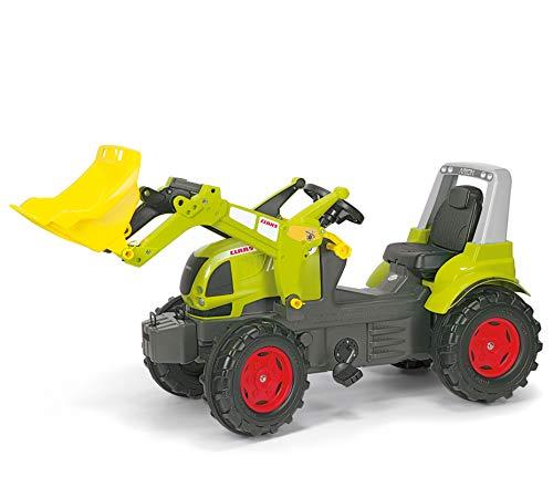 Rolly Toys 710232 rollyFarmtrac CLAAS ARION 640 Kinder Trettraktor für Kinder von 3-7 Jahren mit Frontlader