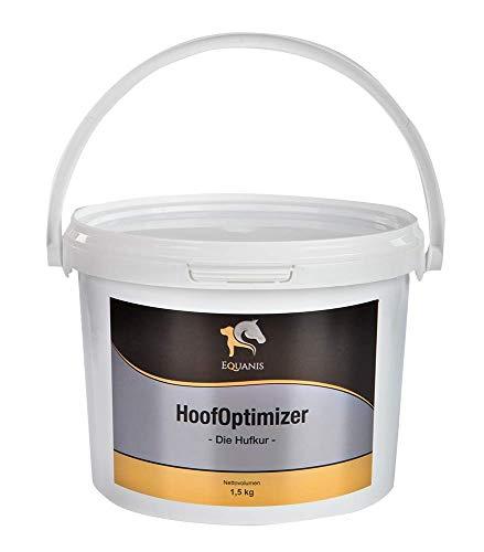 Equanis HoofOptimizer - Die Hufkur für Pferde - Hochwertigste Inhaltsstoffe wie Biotin, MSM und Zink unterstützen die Hornproduktion und stärken den Huf von innen heraus