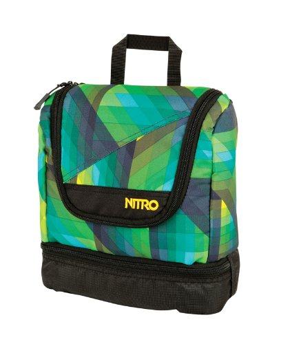 Nitro Snowboards Reise-Kulturbeutel Travel Kit, Geo Green, 25 cm