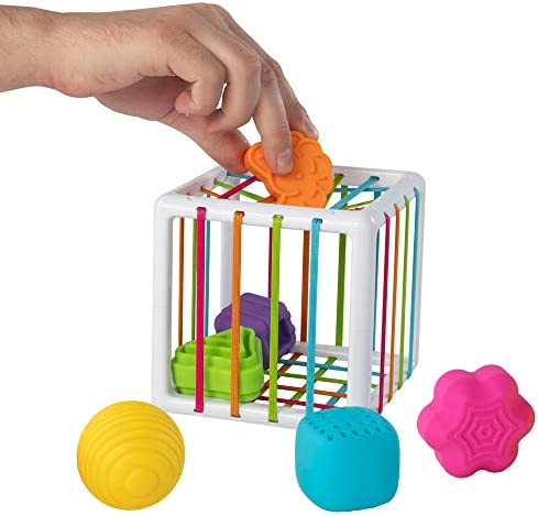 Fat Brain Toys InnyBin Shape Sorting Baby Toy product image