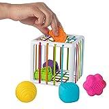 Fat Brain Toys InnyBin Shape Sorting Baby Toy