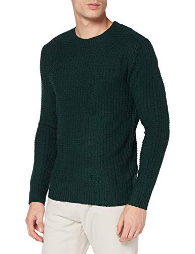 Tom Tailor Struktur Suter Pulver, 11490 Stroke Green-Juego de Mesa de Juguete, Color Verde, L para Hombre