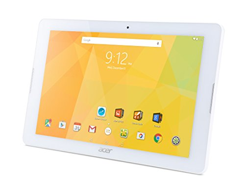 Acer Iconia One 10 (B3-A20) 25,7 cm (10,1 Zoll HD Touch IPS) Media Tablet (1,3 GHz Quad-Core, 32 GB, 1 GB RAM, GPS, Bluetooth, MicroSD, MicroUSB, WLAN, Android 5.1, Multi-Touch) weiß