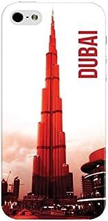 Stylizedd Premium Slim Snap Case Cover Matte Finish for Apple iPhone SE / 5 / 5S - Dubai - The Burj