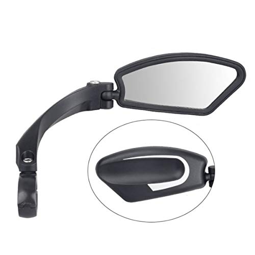 1PC Bicycle Bike Handlebar Rearview Mirror Back Safety Mirror for Bicycle MTB Bike Electric Motorcycle (Color : Right)