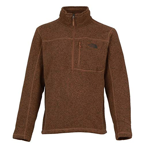 The North Face Men's Gordon Lyons Quarter Zip - Cargo Khaki Heather - XXL