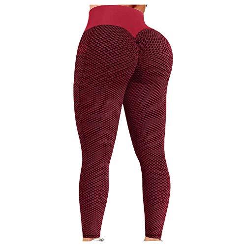 YJUU Damen-Leggings, Sexy, Hohe Taille, Yogahose, Booty Scrunch, Socken Damen 35-38 Herren Tshirt Chucks Damen Herren GeldböRse Sonnensegel Western