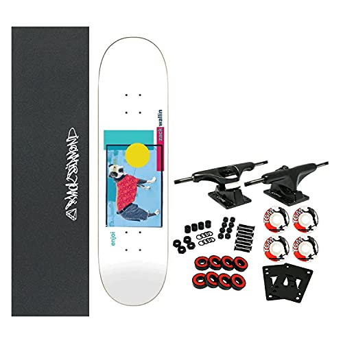 """Enjoi Skateboard Complete Wallin Skart 8.25"""" x 32.1"""""""