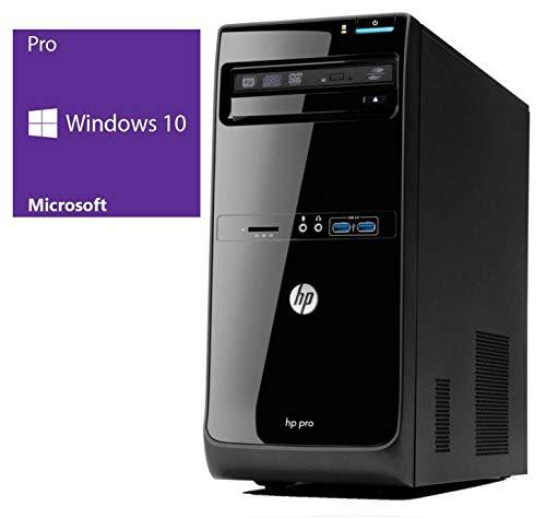 Lenovo - Tower Desktop Parent FR HP Pro 3400 MT   Office PC / Multimedia Computer   Intel Core i3-2120 @ 3,3 GHz   4GB DDR3 RAM   500GB HDD   DVD-Brenner   Window 10 Pro Intel Core i3 (Ricondizionato)