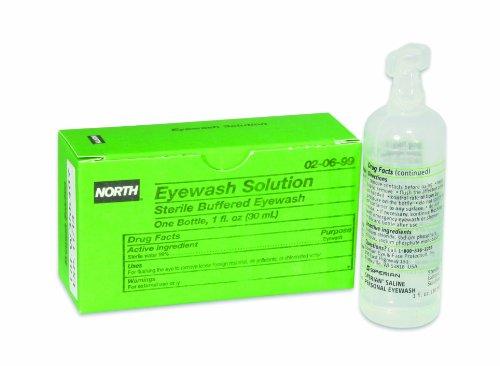 Honeywell Eyewash Solution, Sterile, 1 oz, 1 per unit 020699
