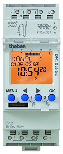Theben - TR 612 TOP2 - Horloge programmable digitale