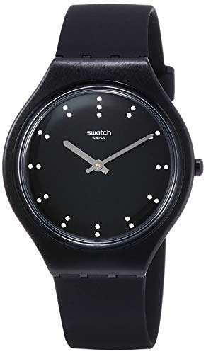 Swatch Reloj Analógico para Unisex Adultos de Cuarzo con Correa en Silicona SVOB106