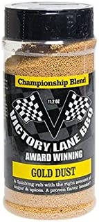 Victory Lane BBQ Gold Dust Award Winning Finishing Rub-11 OZ Shaker