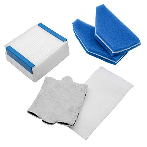 vhbw Staubsauger-Filter Set passend für Thomas Perfect Air Allergy Pure, Perfect Air Animal Pure Staubsauger