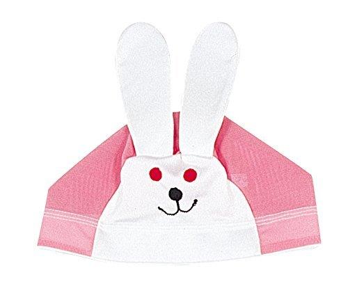 FOOTMARK(フットマーク) 水泳帽 スイミングキャップ アニマルくん 202117 ピンク(03) 幼児フリー