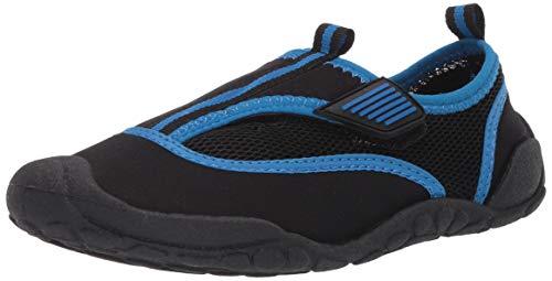 Amazon Essentials Unisex Kids' Water Shoe, Black, 6 M US Big Kid