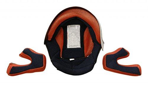 S-Line Imbottitura interna per casco cross bambino S880 grigio L (Imbottiture Casco) / Inner padding for kid helmet cross S880 grey L (Inner Lining)