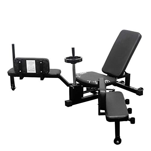 Valor Fitness CA Leg Stretcher Machine with Wheel and Gear System – Extends Over 180 Degrees, Model:CA-27