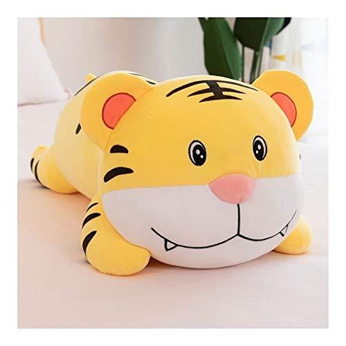 YANGYUAN - Almohadas de animales, diseño de tigre, divertido regalo de Navidad, cumpleaños, decoración del hogar creativa, 27,5 pulgadas
