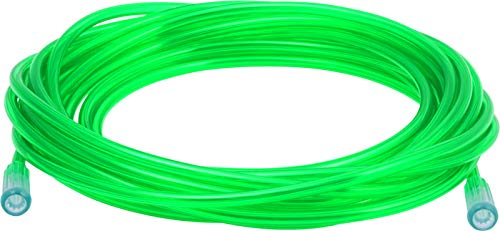 Mars Wellness Oxygen Tubing - Premium Green Crush Resistant Oxygen Tubes - Extra Long 50 Foot - Pack of 5 Tubes