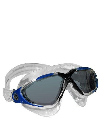 Aqua Sphere Schwimmbrille Vista getönt Erwachsene (Farbe: transparent/blau)