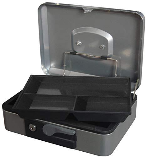 PROFER HOME - Caja Caudales Pulsador 4 Plata Profer Home 30X24X9Cm