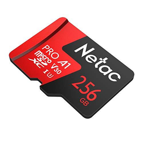 Cartão Memoria MicroSd 256GB Extreme Pro Netac c Adap