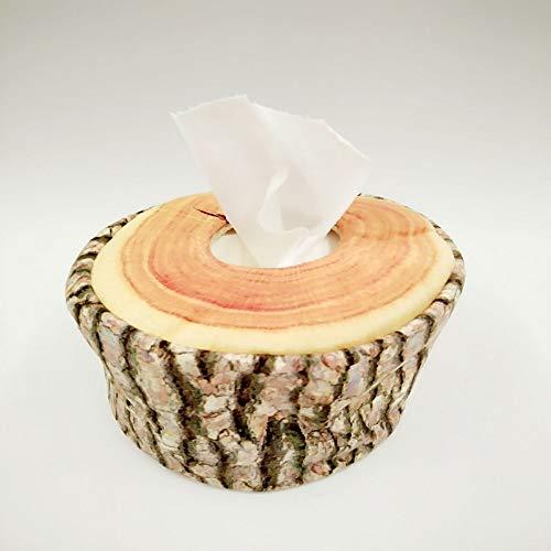 Zun068 weefsel doos Hout Tissue Box Hout Roll Papier Pomp Boom Tissue Buis