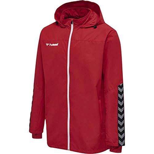 hummel Jungen hmlAUTHENTIC Kids All-Weather Jacket Jacke, True Red, 140