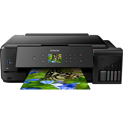 Epson EcoTank ET-7750 A3 Print/Scan/Copy Wi-Fi Photo Printer, Black