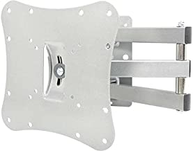 """Rosewill LCD LED TV Wall Mount Articulating Arm - Tilt/Swivel, for Most 17"""" – 37"""" TV Monitor Display Television, VESA 75x75 / 100x100 / 200x200 mm, Max. Load 81 lbs, Silver, RHTB-14001"""