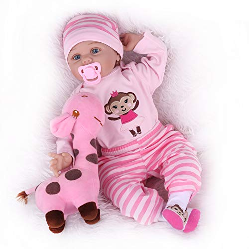 Kaydora Reborn Baby Doll, 22 Inch Weighted Baby Girl, Realistic Newborn Baby Doll