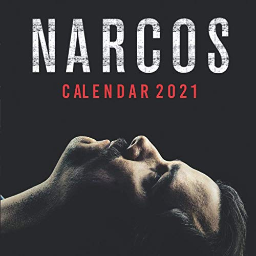 NARCOS: Happy New Year 2021 with this small amazing 8.5''x8.5'' Calendar